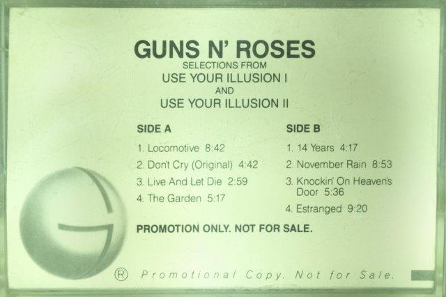 Guns N Roses - Use Your Illusion Promo Sampler