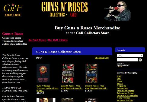 Guns Roses Store