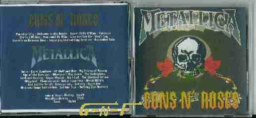 Gun-N-Roses Bootlegs guns n Roses / metallica (MEDLEY)