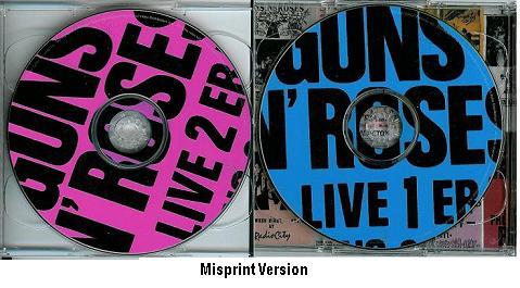 gun n roses misprint live era cds disc1 amp 2